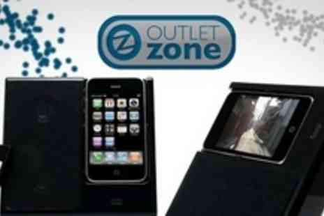 Outlet Zone - iPhone Bumper Bundle Including Portable Dock and Sheepskin Carry Case Plus Accessories - Save 80%