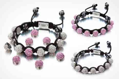 Fire Rock - Shimla Crystal Interchangeable Bead Bracelet - Save 68%