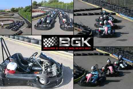 Brooklands Go Karts - Go Karting Session - Save 25%