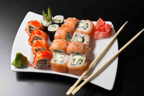 Yazu Sushi - Sushi meal for 2 including 10 dishes to share and a drink - Save 58%