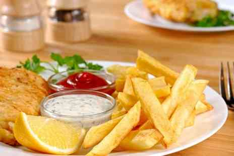 The Royal Oak - Fish and Chips For Two - Save 59%
