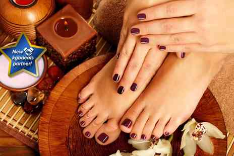 Beautylicious Manchester - Shellac pedicure - Save 70%