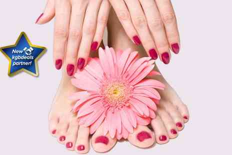 Lillee Hair and Nail Design - Gellux manicure and pedicure - Save 57%