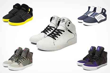 Born on the Streets - Supra Trainers Choice of Styles - Save 58%