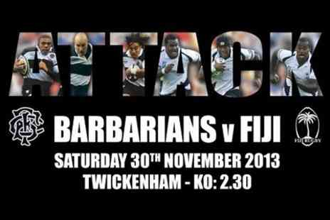 Barbarians v Fiji - Adult Rugby Union Tickets - Save 38%