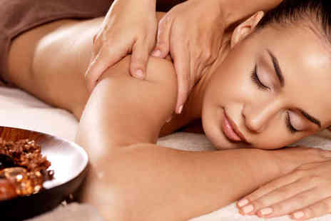 Re-Vitability - 30 Minute Back Neck and Shoulder Massage Hot Wax Treatment - Save 58%