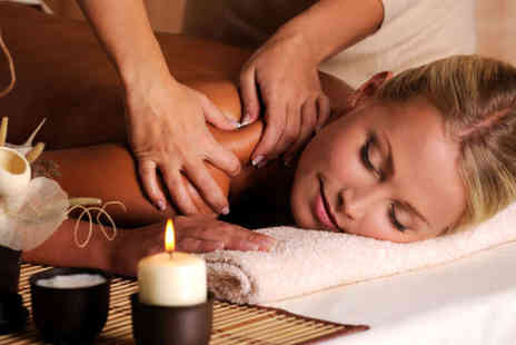 Affinity Beauty Therapy - Lux Candle Back Neck and Shoulder Massage - Save 53%