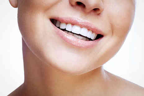 The White Smile Company - One Hour Laser Teeth Whitening Treatment for One - Save 60%