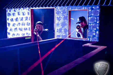 Laser Quest - Childrens Birthday Party for Six - Save 74%