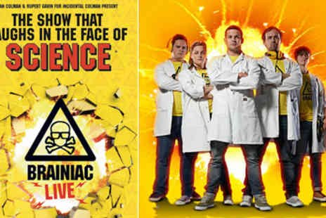 Nimax Theatres - Great Kids Theatre Brainiac Live Based on the Multi Award Winning Sky TV show in the West End - Save 50%