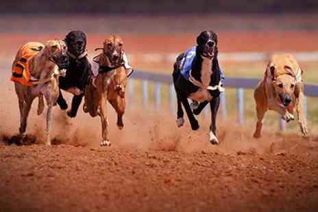 Sunderland Dogs - Night at Sunderland Dogs With Food, Drinks and Race Cards For Two - Save 64%