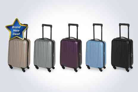 SVB Trading - 18 cabin trolley case in black - Save 54%