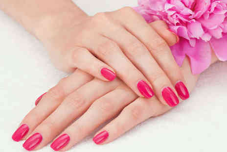 Lock Hart Hair and Beauty - Mini Manicure and Pedicure with Opi Colour and Gel Overlay or Facial  - Save 70%