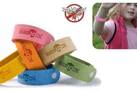 UKCJS - 10 mosquito and bug repellent bracelets - Save 85%
