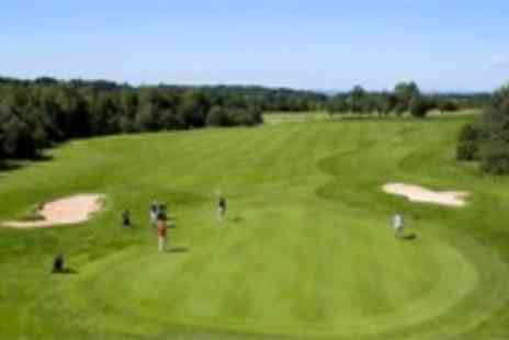 Thornbury Golf Centre - Unlimited day of golf for two including lunch - Save 71%