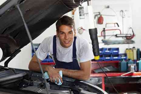 The Garage Mk - 54 Point Car Service With Oil Change - Save 68%
