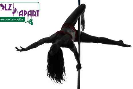 Polz Apart - Pole dancing or trapeze classes - Save 25%