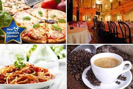 Sofias Italian Ristorante - Starter and pizza or pasta main course for two people - Save 70%