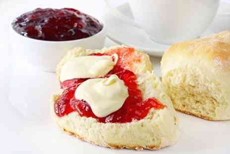The Rasberry Cakery - Cream Tea For Two - Save 50%
