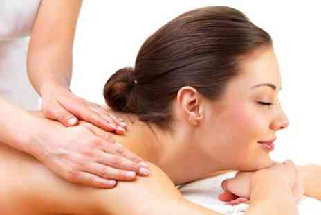 Simply Massage - Invigorating Facial and Back Massage - Save 34%
