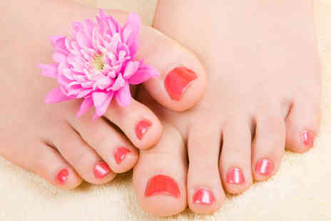 Wollaton Beauty Lounge - Pedicure with Luxury Gel Colour - Save 58%