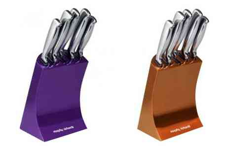 Morphy Richards - Morphy Richards 5 Piece Knife Block Set - Save 22%