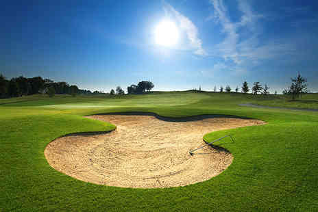 Gatton Manor - 18 hole round of golf for 2 plus a bacon roll and coffee on arrival - Save 52%