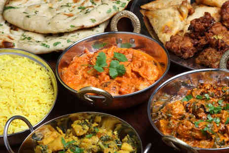 Heera Indian Restaurant - Indian buffet for 2 - Save 67%