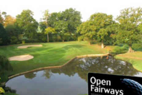 Open Fairways - Give the gift of golf this Christmas with a 12 month Privilege Card - Save 60%