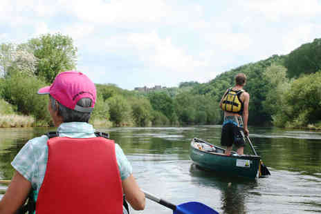 Wye Canoes - Full Day Canoeing and Orienteering Experience on River Wye for Two People - Save 61%