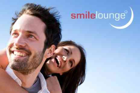 Smile Lounge - Laser Teeth Whitening for £89 withSmile Lounge (£199 Value) - Save 55%