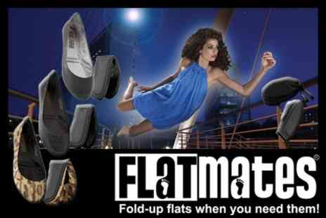 Flatmates by Redfoot - Two Pairs of Folding Flatmates for £15.99 from Redfoot Revolution (Value £59.98) - Save 73%