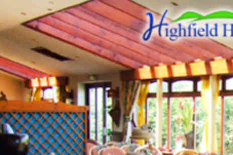 The Highfield Hotel - Thai Meal for Two - Save 61%