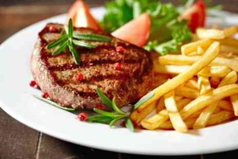 The Thyme Restaurant - Steak With Drink For Two or Four - Save 66%