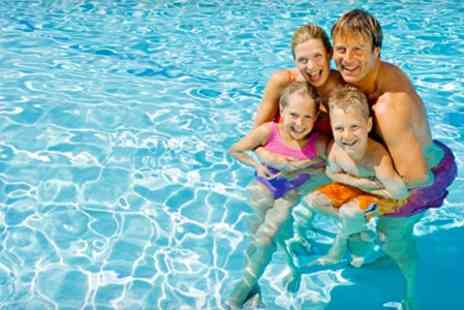 Fareham Leisure Centre - Family Swim Pass Plus Refreshments - Save 53%