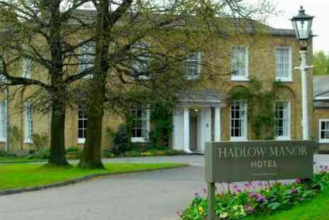 Hadlow Manor Hotel - In Kent One Night Stay For Two With Afternoon Tea and Bottle of Wine - Save 46%