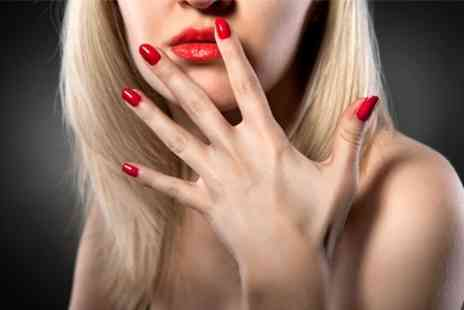 Godiva Nails - Shellac Nails With Luxury Manicure or Pedicure - Save 55%