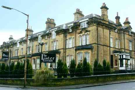 Lister Hotel - In West Yorkshire One Night Stay For Two With Breakfast - Save 51%