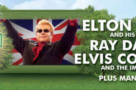 Barclaycard British Summertime - General Admission Ticket to Concert with Elton John, Ray Davies - Save 51%
