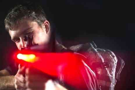 Lock N Load - Laser Combat One Hour of Play For Two - Save 50%
