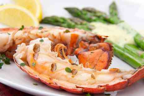 Yamas Restaurant and Wine Bar - Delicious lobster meal for two - Save 51%