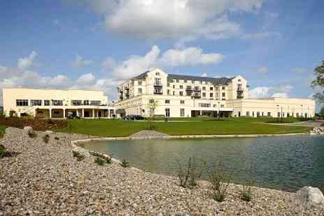 Knightsbrook Hotel - In County Meath One Night Stay For Two With Breakfast, Dinner and Spa or Golf - Save 48%