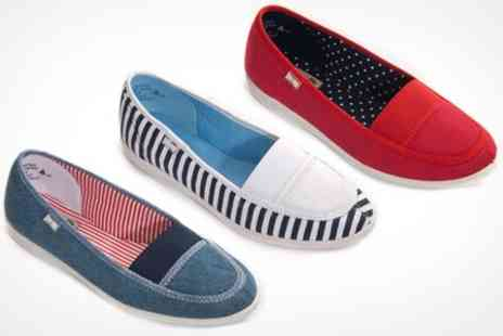 Courtaulds - Womens Canvas Summer Shoes - Save 50%