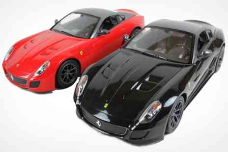 STO Racing Products - Lamborghini or Ferrari 1/14 Scale RC Remote Control Supercar - Save 70%