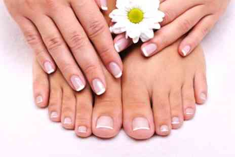 Tranquility Nails - Manicure or Pedicure With Gel Polish - Save 33%