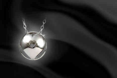 Cygnet Jewellery - Sterling silver Sphere of Life pendant necklace - Save 60%