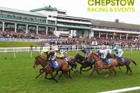 Chepstow Racecourse - Tickets to the Scouting for Girls Race Night for Two Adults - Save 48%