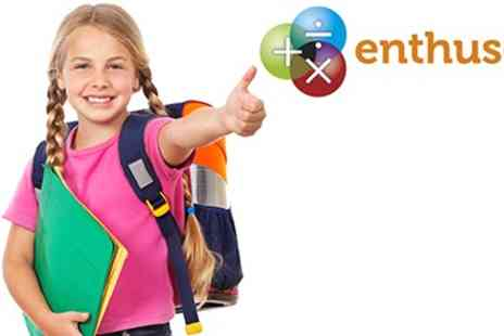 Enthuse Education - Summer Tuition For Kids Professional Online Tutors For Maths & English - Save 75%
