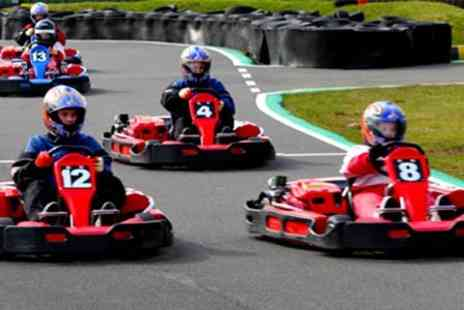 Knockhill Racing Circuit - 25 Lap Karting Sprint Race - Save 50%