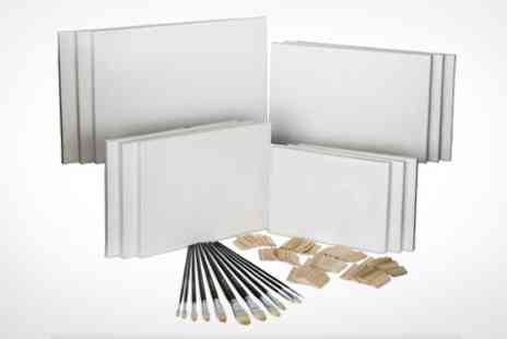 Rigwell - Artists Blank Canvas Set Set of Eight - Save 63%